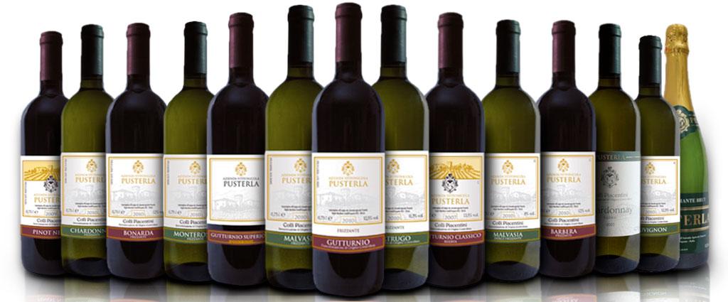 I vini piacentini di Pusterla - Castell'Arquato